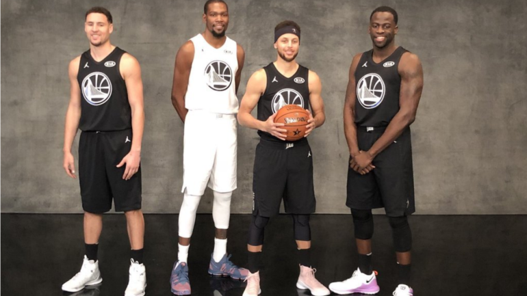 new concept 64b8d c36fa Klay Thompson, John Wall stand out on NBA All-Star Weekend ...